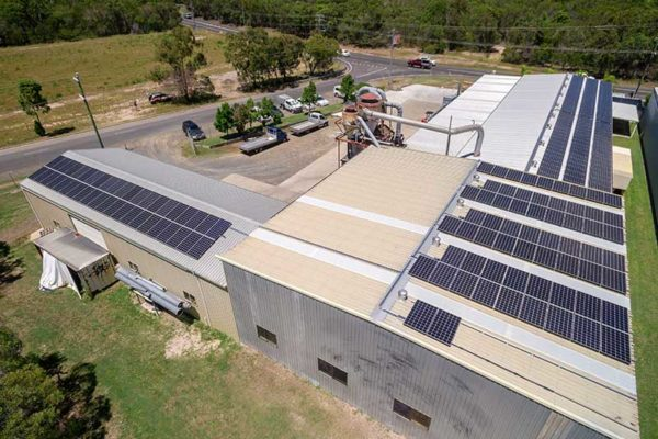 Business With Solar Power