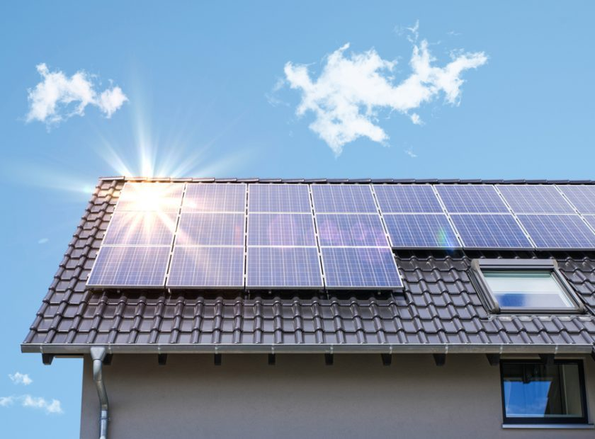 Photovoltaic,Panels,On,The,Roof